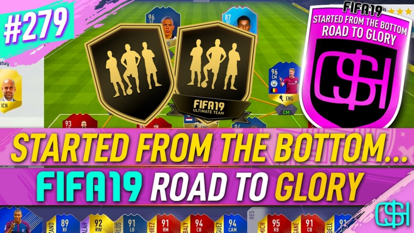 FIFA 19 ROAD TO GLORY FIFA 19 ULTIMATE TEAM QUICKSTOPHICKS FIFA 19 RTG EPISODE 279 BEST TEAM STARTING FIFA 20 YOUTUBE