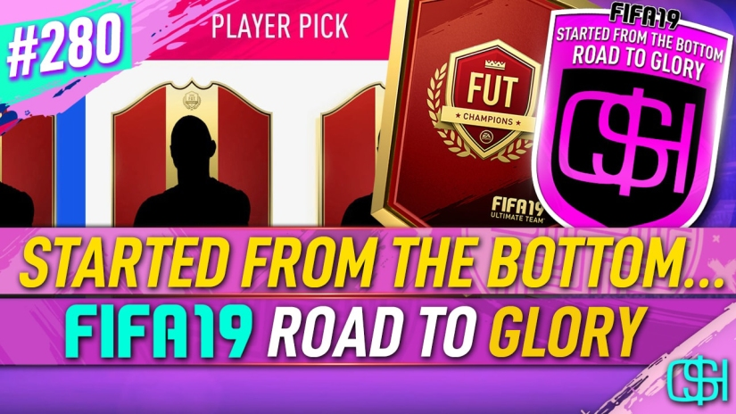 FIFA 19 ROAD TO GLORY FIFA 19 ULTIMATE TEAM QUICKSTOPHICKS FIFA 19 RTG EPISODE 280 CHEAP TEAM STARTING FIFA 20 YOUTUBE