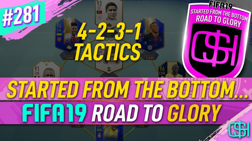 FIFA 19 ROAD TO GLORY FIFA 19 ULTIMATE TEAM QUICKSTOPHICKS FIFA 19 RTG EPISODE 281 BEST CUSTOM TACTICS FIFA 20 YOUTUBE