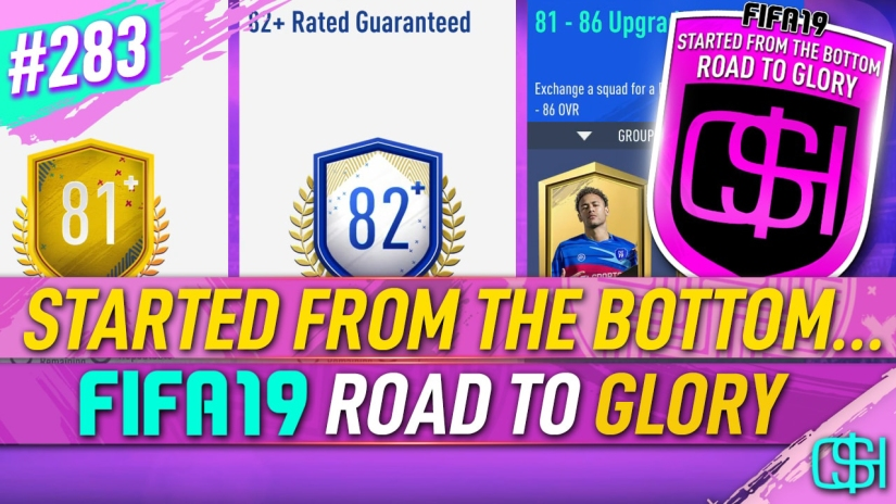 FIFA 19 ROAD TO GLORY FIFA 19 ULTIMATE TEAM QUICKSTOPHICKS FIFA 19 RTG EPISODE 283 GAMEPLAY RESPONSIVENESS FIFA 20 YOUTUBE