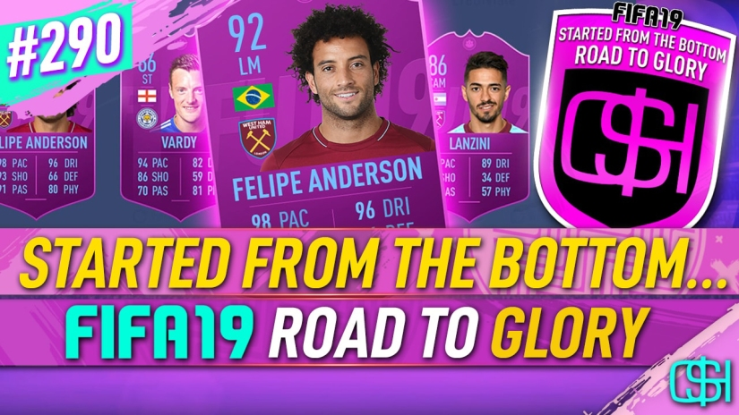 FIFA 19 ROAD TO GLORY FIFA 19 ULTIMATE TEAM QUICKSTOPHICKS FIFA 19 RTG EPISODE 290 ANDERSON LEAGUE SBC COMPLETED FIFA 20 YOUTUBE