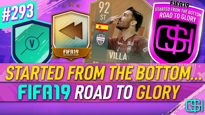 FIFA 19 ROAD TO GLORY FIFA 19 ULTIMATE TEAM QUICKSTOPHICKS FIFA 19 RTG EPISODE 293 FLASHBACK SBC FIFA 20 YOUTUBE EA JOBS