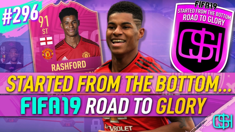 FIFA 19 ROAD TO GLORY FIFA 19 ULTIMATE TEAM QUICKSTOPHICKS FIFA 19 RTG EPISODE 296 MARCUS RASHFORD FUT SWAP SBC FIFA 20 YOUTUBE