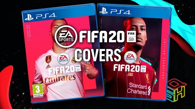 FIFA 20 OFFICIAL COVERS VAN DIJK HAZARD