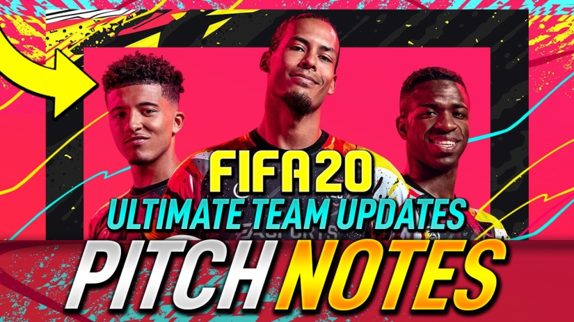 FIFA 20 ULTIMATE TEAM UPDATES AND PITCH NOTES THOUGHTS