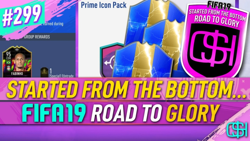 FIFA 19 ROAD TO GLORY FIFA 19 ULTIMATE TEAM QUICKSTOPHICKS FIFA 19 RTG EPISODE 299 GUARANTEED TOTS PLAYER FIFA 20 YOUTUBE
