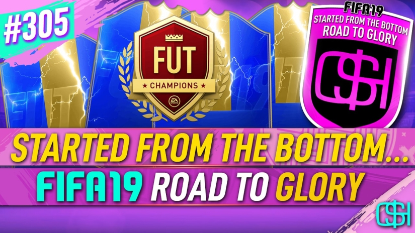 FIFA 19 ROAD TO GLORY FIFA 19 ULTIMATE TEAM QUICKSTOPHICKS FIFA 19 RTG EPISODE 305 LAST FUT CHAMPIONS REWARDS FIFA 20 YOUTUBE