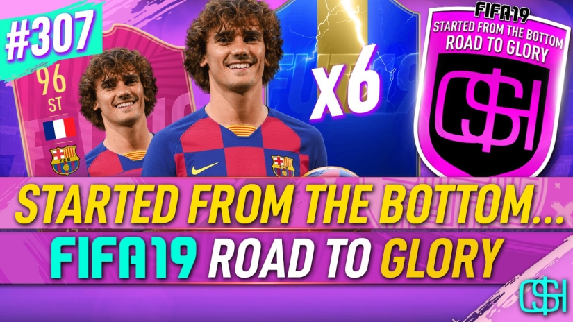 FIFA 19 ROAD TO GLORY FIFA 19 ULTIMATE TEAM QUICKSTOPHICKS FIFA 19 RTG EPISODE 307 GRIEZMANN BARCELONA 6 TOTS IN A PACK FIFA 20 YOUTUBE