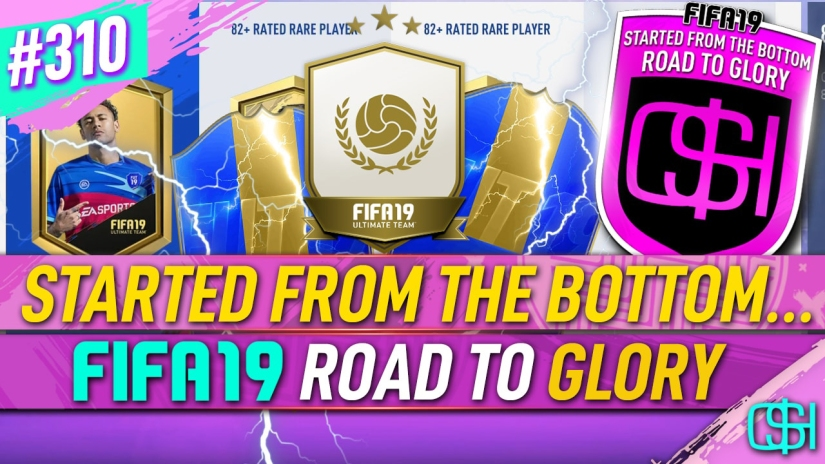 FIFA 19 ROAD TO GLORY FIFA 19 ULTIMATE TEAM QUICKSTOPHICKS FIFA 19 RTG EPISODE 310 TOTS UPGRADE SBC PACKS UPGRADE PACKS FIFA 20 YOUTUBE