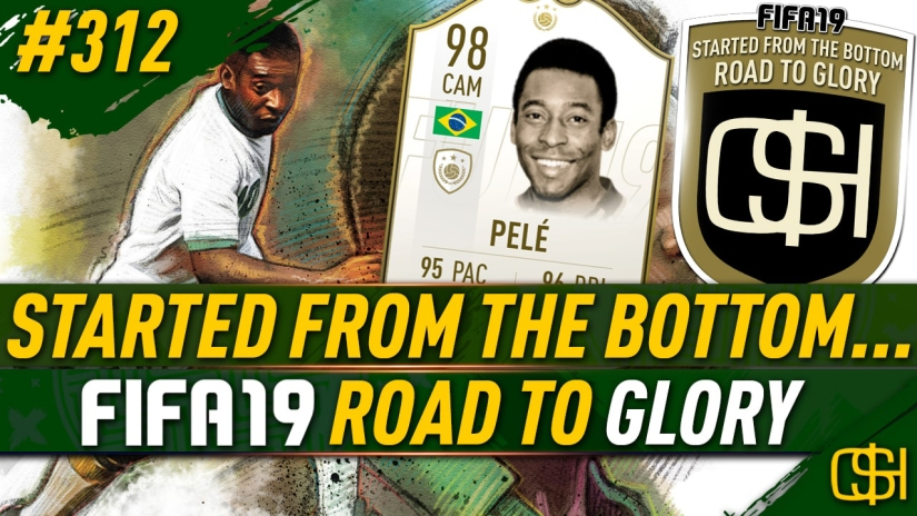 FIFA 19 ROAD TO GLORY FIFA 19 ULTIMATE TEAM QUICKSTOPHICKS FIFA 19 RTG EPISODE 312 PRIME ICON PELE LEGEND REVIEW FIFA 20 YOUTUBE