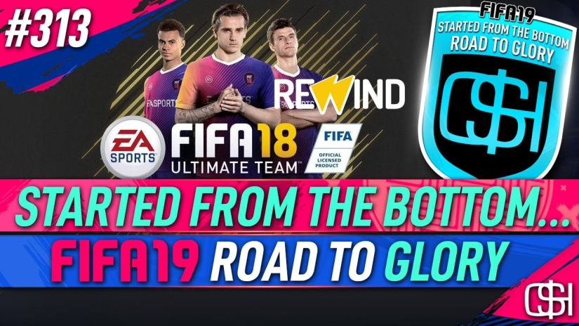 FIFA 19 ROAD TO GLORY FIFA 19 ULTIMATE TEAM QUICKSTOPHICKS FIFA 19 RTG EPISODE 313 FIFA 18 REWIND FIFA 20 YOUTUBE