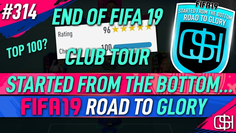 FIFA 19 ROAD TO GLORY FIFA 19 ULTIMATE TEAM QUICKSTOPHICKS FIFA 19 RTG EPISODE 314 FIFA 19 TOP 100 CLUB TOUR FIFA 20 YOUTUBE