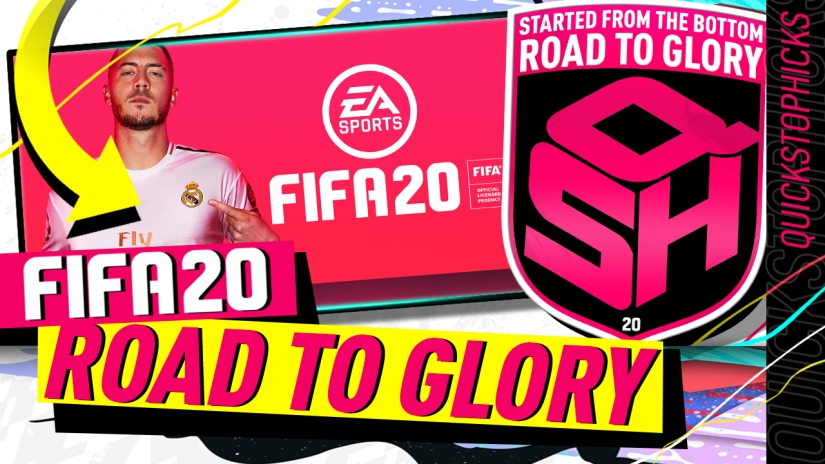 FIFA 20 ULTIMATE TEAM ROAD TO GLORY YOUTUBE VIDEO EPISODE QUICKSTOPHICKS