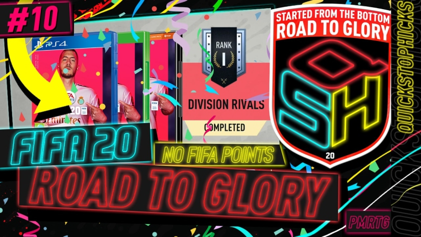 FIFA 20 ROAD TO GLORY YOUTUBE VIDEO FIFA 20 ULTIMATE TEAM ROAD TO GLORY EPISODE 10 QUICKSTOPHICKS SUMMER ONES TO WATCH SBC COMPLETED