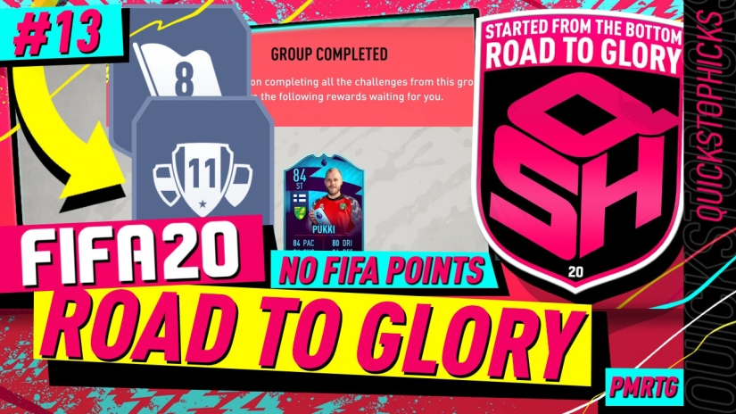 FIFA 20 ROAD TO GLORY YOUTUBE VIDEO FIFA 20 ULTIMATE TEAM ROAD TO GLORY EPISODE 13 QUICKSTOPHICKS PUUKI POTM SBC HYBRID NATIONS SBC