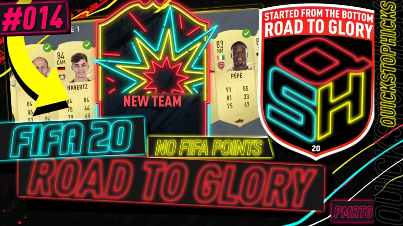 FIFA 20 ROAD TO GLORY YOUTUBE VIDEO FIFA 20 ULTIMATE TEAM ROAD TO GLORY EPISODE 14 QUICKSTOPHICKS INSANE TRANSFER PROFIT INASANE NEW NEW ONES TO WATCH HERNANDEZ