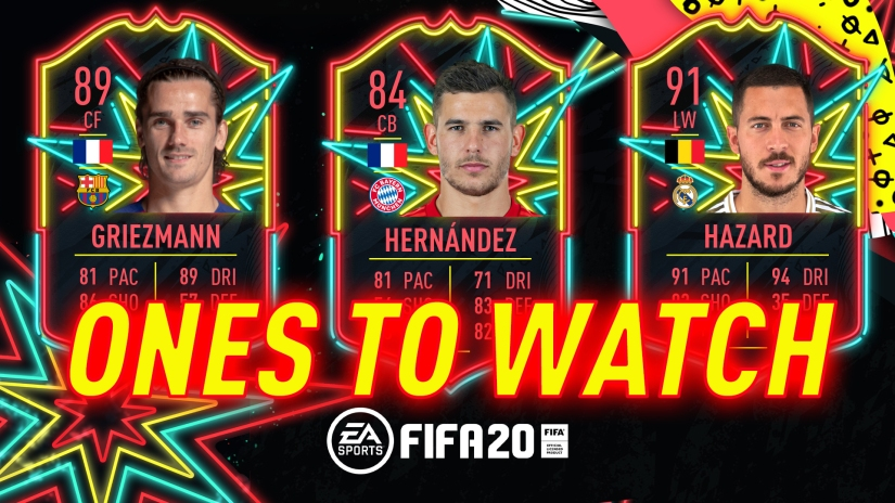 FIFA 20 SUMMER ONES TO WATCH CARDS ANNOUNCED LEAK LIST CONFIRMED
