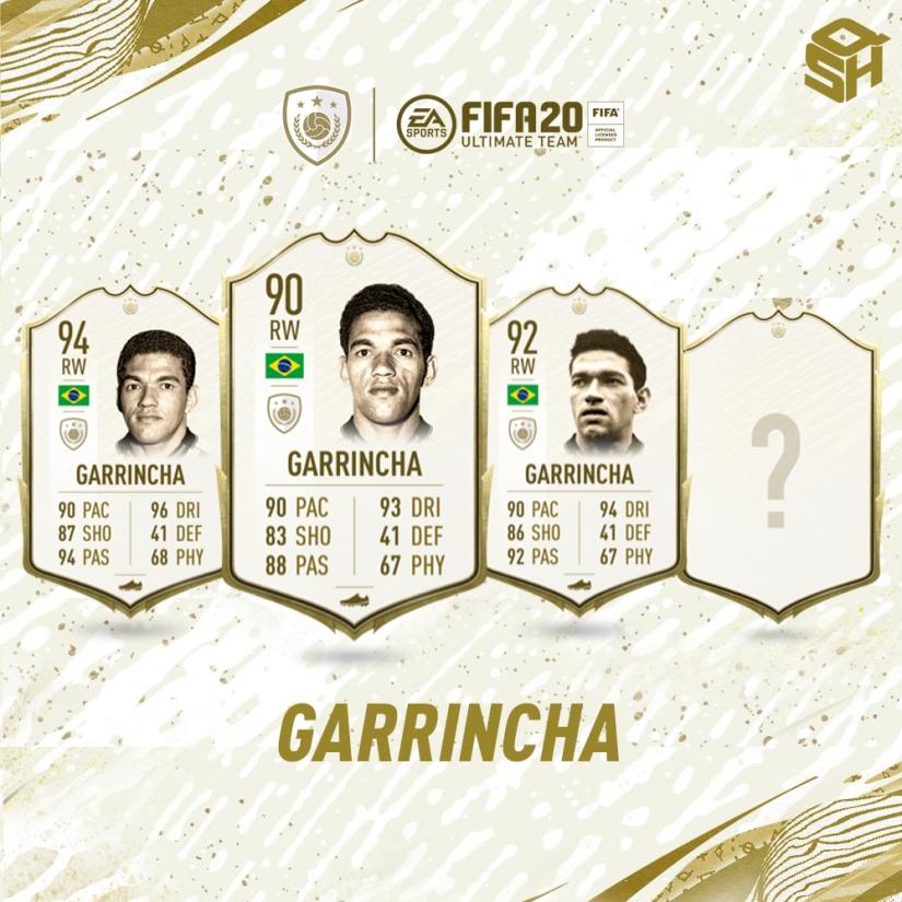 FIFA 20 ULTIMATE TEAM GARRINCHA ICON