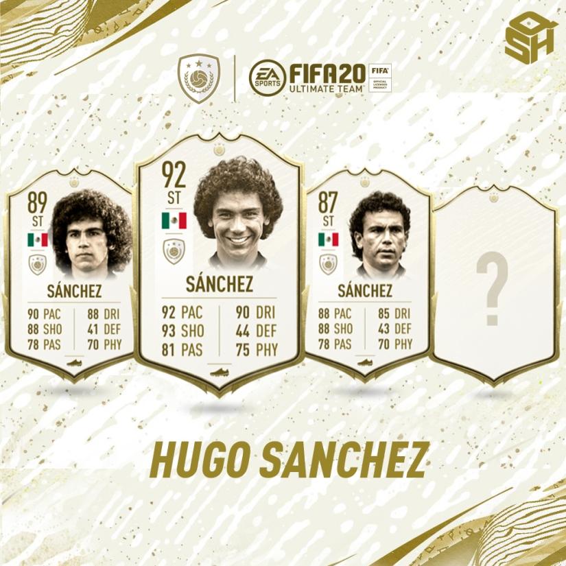 FIFA 20 ULTIMATE TEAM HUGO SANCHEZ ICON