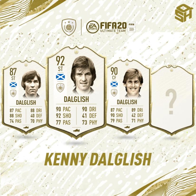FIFA 20 ULTIMATE TEAM KENNY DALGLISH ICON