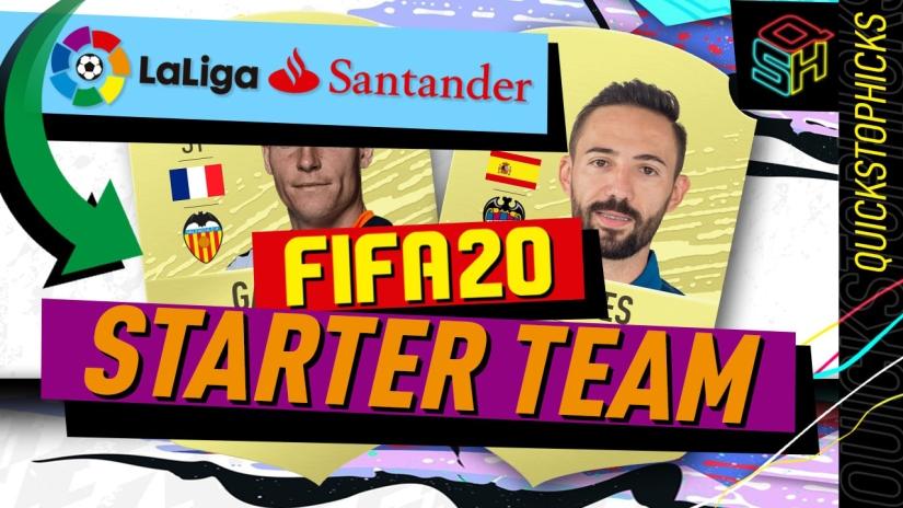 FIFA 20 ULTIMATE TEAM LA LIGA STARTER TEAM YOUTUBE QUICKSTOPHICKS