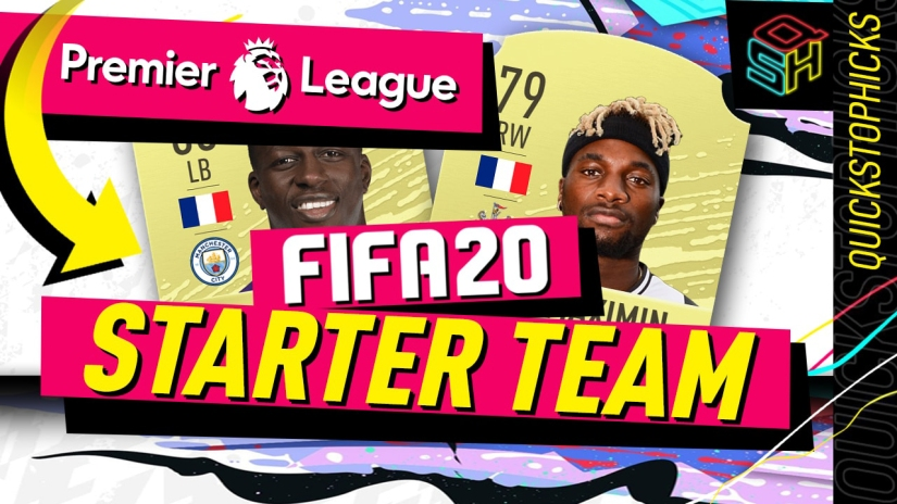 FIFA 20 ULTIMATE TEAM PREMIER LEAGUE STARTER TEAM YOUTUBE QUICKSTOPHICKS