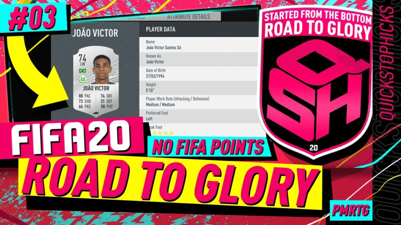 FIFA 20 ULTIMATE TEAM ROAD TO GLORY YOUTUBE VIDEO EPISODE QUICKSTOPHICKS EPISODE 2 EA ACCESS TIME GLITCH UNLIMITED TIME