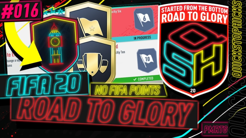 FIFA 20 ROAD TO GLORY YOUTUBE VIDEO FIFA 20 ULTIMATE TEAM ROAD TO GLORY EPISODE 16 QUICKSTOPHICKS HYBRID NATIONS SBC HYBRID LEAGUES SBC
