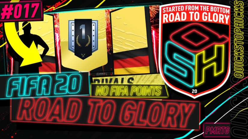 FIFA 20 ROAD TO GLORY YOUTUBE VIDEO FIFA 20 ULTIMATE TEAM ROAD TO GLORY EPISODE 17 QUICKSTOPHICKS RIVALS REWARDS HUGE PLAYER PACKED