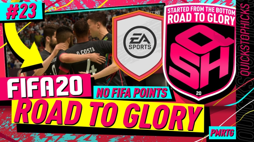 FIFA 20 ROAD TO GLORY YOUTUBE VIDEO FIFA 20 ULTIMATE TEAM ROAD TO GLORY EPISODE 23 QUICKSTOPHICKS STRONG START SBC AND NEW TEAM