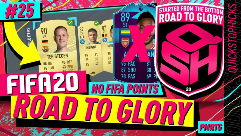 FIFA 20 ROAD TO GLORY YOUTUBE VIDEO FIFA 20 ULTIMATE TEAM ROAD TO GLORY EPISODE 25 QUICKSTOPHICKS TOP 100 FUT CHAMPIONS REWARDS AND DIVISION RIVALS