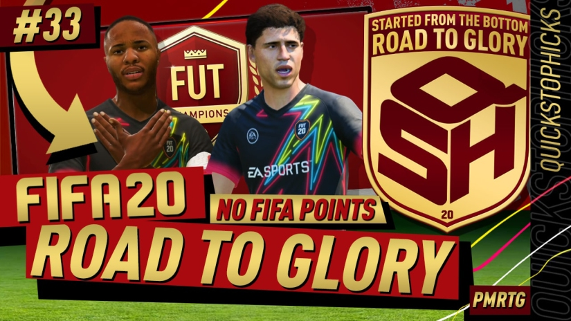 FIFA 20 ROAD TO GLORY YOUTUBE VIDEO FIFA 20 ULTIMATE TEAM ROAD TO GLORY EPISODE 33 QUICKSTOPHICKS ICON SWAPS ULTIMATE SCREAM FIFA 20 FUT CHAMPIONS