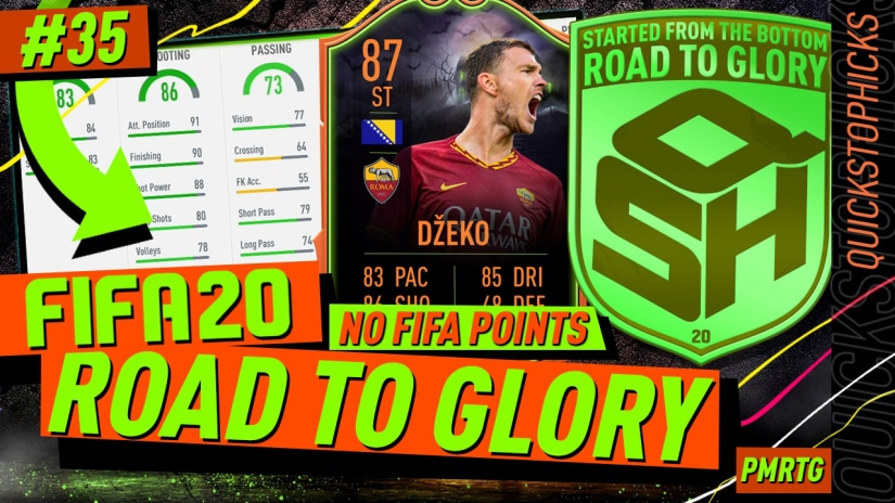 FIFA 20 ROAD TO GLORY YOUTUBE VIDEO FIFA 20 ULTIMATE TEAM ROAD TO GLORY EPISODE 35 QUICKSTOPHICKS ULTIMATE SCREAM SBC SCREAM TEAM FIFA 20