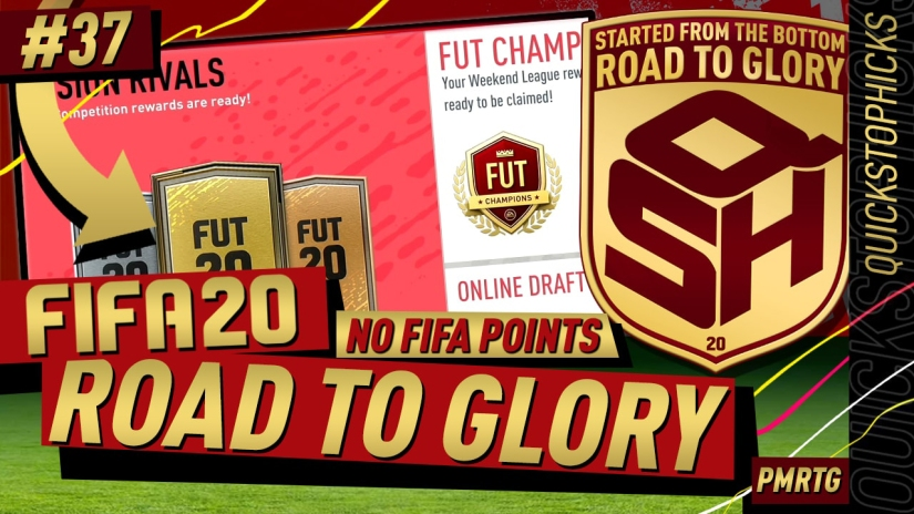 FIFA 20 ROAD TO GLORY YOUTUBE VIDEO FIFA 20 ULTIMATE TEAM ROAD TO GLORY EPISODE 37 QUICKSTOPHICKS FUT CHAMPIONS DELAY BUTTON RESPONSIVENESS LAG