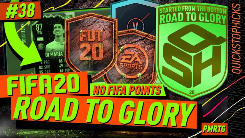 FIFA 20 ROAD TO GLORY YOUTUBE VIDEO FIFA 20 ULTIMATE TEAM ROAD TO GLORY EPISODE 38 QUICKSTOPHICKS MARQUEE MATCHUPS ULTIMATE SCREAM SBC