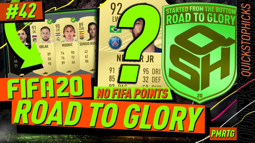 FIFA 20 ROAD TO GLORY YOUTUBE VIDEO FIFA 20 ULTIMATE TEAM ROAD TO GLORY EPISODE 42 QUICKSTOPHICKS BLACK FRIDAY MARKET CRASH