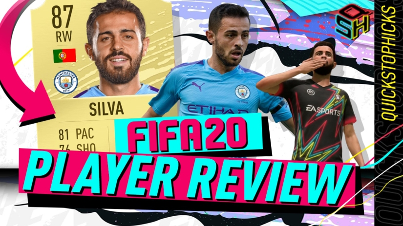 FIFA 20 ULTIMATE TEAM BERNARDO SILVA PLAYER REVIEW FIFA 20 87