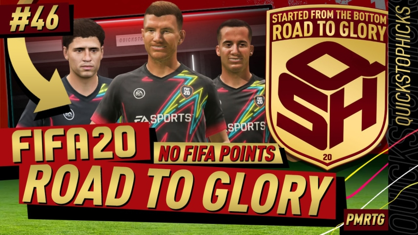 FIFA 20 ROAD TO GLORY YOUTUBE VIDEO FIFA 20 ULTIMATE TEAM ROAD TO GLORY EPISODE 46 QUICKSTOPHICKS TOP 100 FUT CHAMPIONS PRO CUSTOM TACTICS FORMATION
