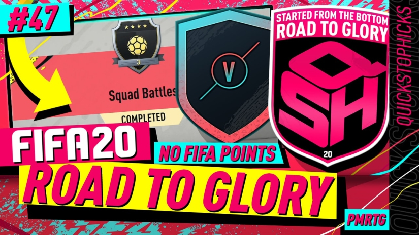 FIFA 20 ROAD TO GLORY YOUTUBE VIDEO FIFA 20 ULTIMATE TEAM ROAD TO GLORY EPISODE 47nQUICKSTOPHICKS SQUAD BATTLES REWARDS PRE ORDER PACKS