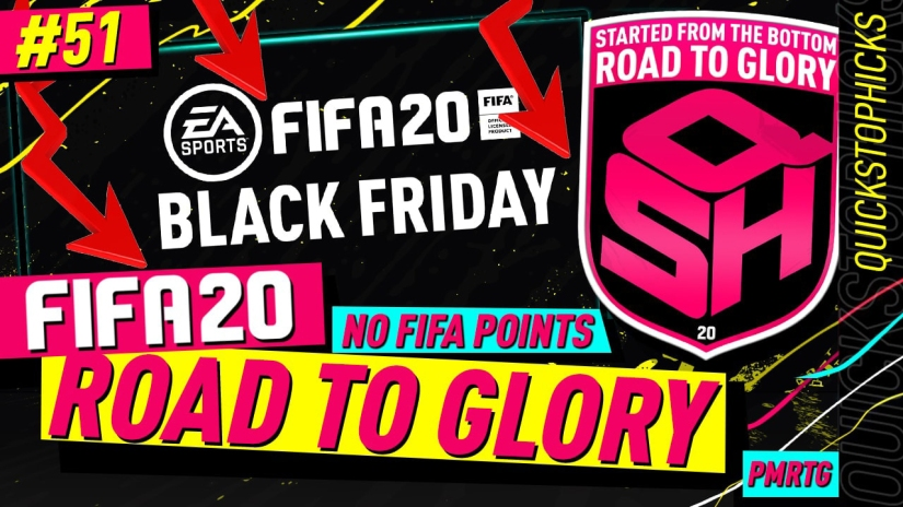 FIFA 20 ROAD TO GLORY YOUTUBE VIDEO FIFA 20 ULTIMATE TEAM ROAD TO GLORY EPISODE 51 QUICKSTOPHICKS BLACK FRIDAY MARKET CRASH