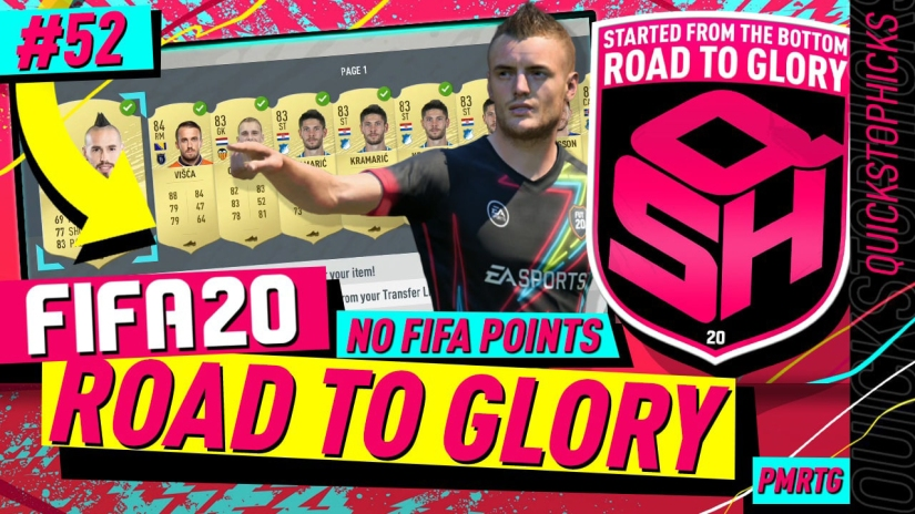 FIFA 20 ROAD TO GLORY YOUTUBE VIDEO FIFA 20 ULTIMATE TEAM ROAD TO GLORY EPISODE 52 QUICKSTOPHICKS BLACK FRIDAY MARKET CRASH