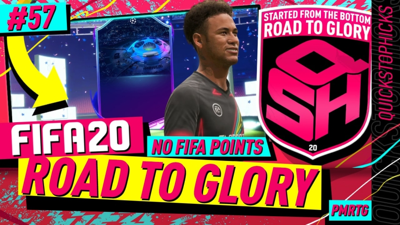 FIFA 20 ROAD TO GLORY YOUTUBE VIDEO FIFA 20 ULTIMATE TEAM ROAD TO GLORY EPISODE 57 QUICKSTOPHICKS NEYMAR FIFA 20