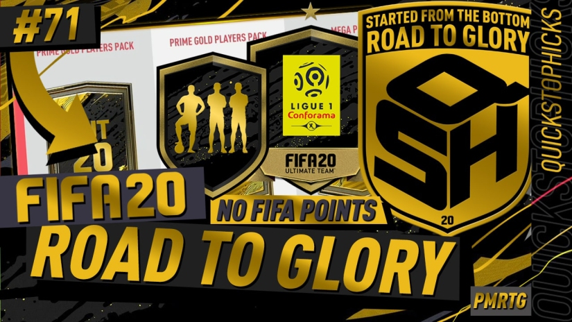 FIFA 20 ROAD TO GLORY YOUTUBE VIDEO FIFA 20 ULTIMATE TEAM ROAD TO GLORY EPISODE 71 QUICKSTOPHICKS BLACK FRIDAY LEAGUE UPGRADE PACKS TOTW PACKS