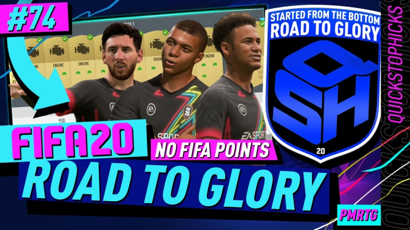 FIFA 20 ROAD TO GLORY YOUTUBE VIDEO FIFA 20 ULTIMATE TEAM ROAD TO GLORY EPISODE 74 QUICKSTOPHICKS FLIPPING CONSUMABLES