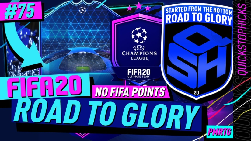 FIFA 20 ROAD TO GLORY YOUTUBE VIDEO FIFA 20 ULTIMATE TEAM ROAD TO GLORY EPISODE 75 QUICKSTOPHICKS UCL MESSI POTM SBC MESSI TOTGS