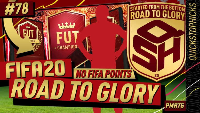 FIFA 20 ROAD TO GLORY YOUTUBE VIDEO FIFA 20 ULTIMATE TEAM ROAD TO GLORY EPISODE 78 QUICKSTOPHICKS FIFA 20 TOP 100 FUT CHAMPIONS REWARDS