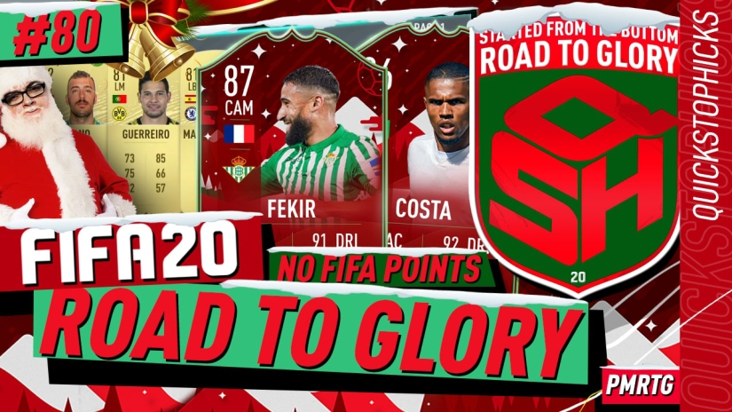 FIFA 20 ROAD TO GLORY YOUTUBE VIDEO FIFA 20 ULTIMATE TEAM ROAD TO GLORY EPISODE 80 QUICKSTOPHICKS FIFA 20 FUTMAS TOTY NOMINEES CARDS OVER PRICED SBCS