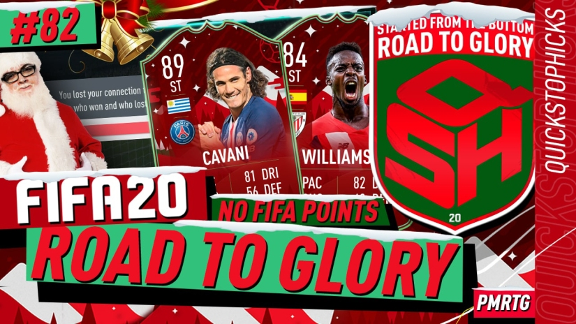 FIFA 20 ROAD TO GLORY YOUTUBE VIDEO FIFA 20 ULTIMATE TEAM ROAD TO GLORY EPISODE 82 QUICKSTOPHICKS FIFA 20 FUTMAS TOTY NOMINEES CARDS OVER PRICED SBCS