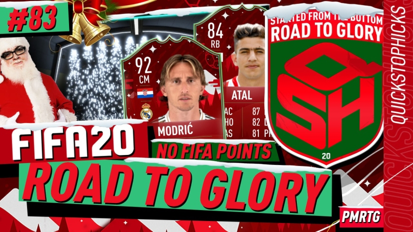 FIFA 20 ROAD TO GLORY YOUTUBE VIDEO FIFA 20 ULTIMATE TEAM ROAD TO GLORY EPISODE 83 QUICKSTOPHICKS FIFA 20 FUTMAS TOTY NOMINEES CARDS OVER PRICED SBCS