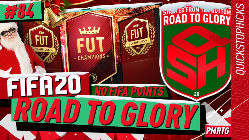 FIFA 20 ROAD TO GLORY YOUTUBE VIDEO FIFA 20 ULTIMATE TEAM ROAD TO GLORY EPISODE 84 QUICKSTOPHICKS FIFA 20 FUTMAS TOTY NOMINEES CARD TOP 100 FUT CHAMPIONS REWARDS